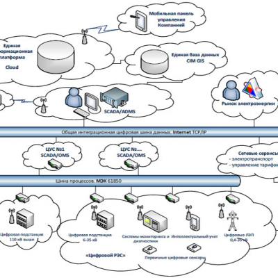 Целевая модель цифровой сети
